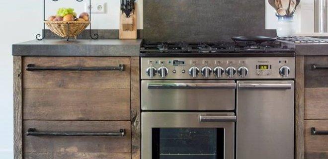 Houten Keuken Industrieel : Keukeninspiratie! Oud houten keuken van RestyleXL Nieuws