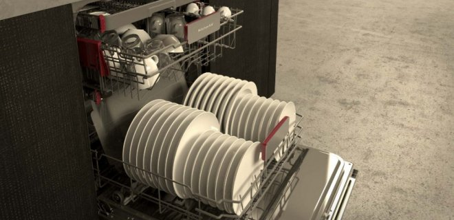 Kitchenaid afwasmachine Dynamic Clean