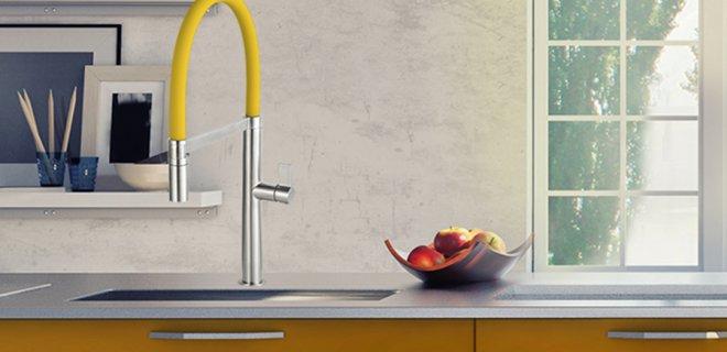 Kleur in de keuken met Caressi Colours