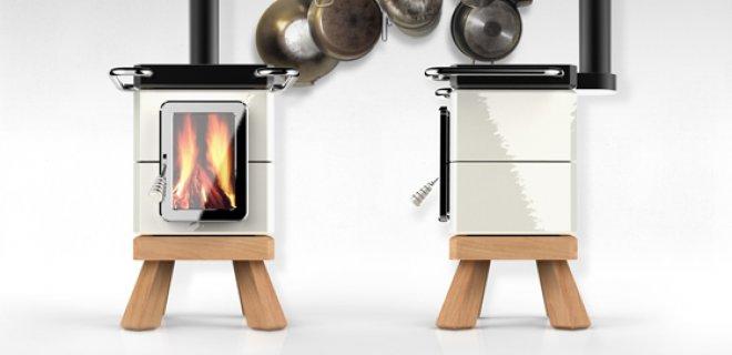 Stoer! Koken op houtkachel CookinStack
