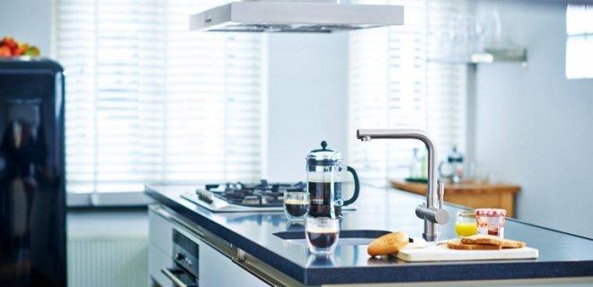 Kokend water kranen & complete mengkranen