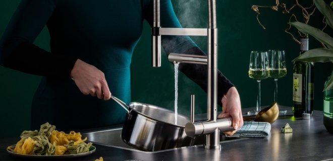 Nieuw model kokendwaterkraan Easy Comfort XL