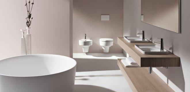 De luxe van een hotel met de Laufen Val badkamercollectie