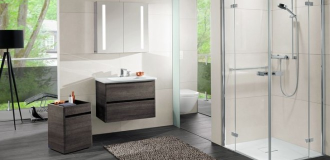 Levensloopbestendige badkamercollectie Vivia van Villeroy u0026 Boch