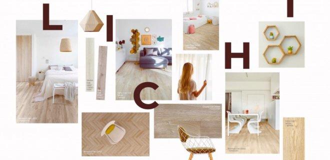 Lichtkleurige PVC vloeren met Scandinavisch kantje