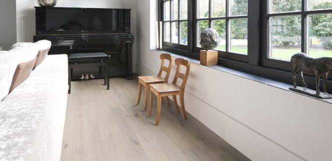 Maak de houten vloer winterklaar