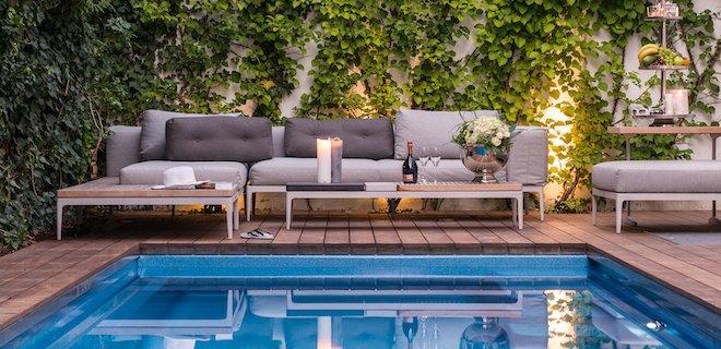 Maak van je staycation een langdurige droomvakantie met een zwembad in de tuin