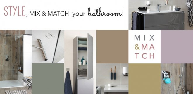 Mix & Match een complete badkamer
