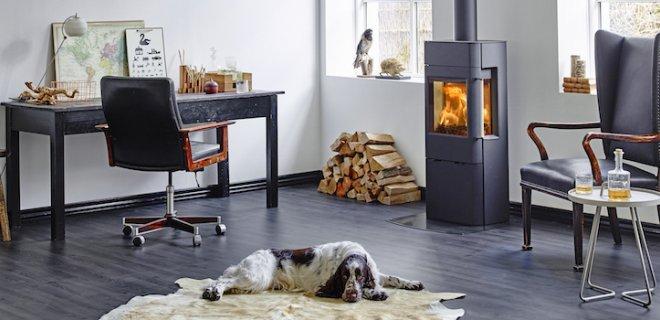 Moderne Scan houtkachels met Deens design