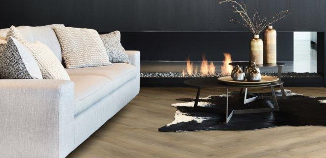 Onderhoudsvriendelijke PVC vloeren met hout & steen dessins
