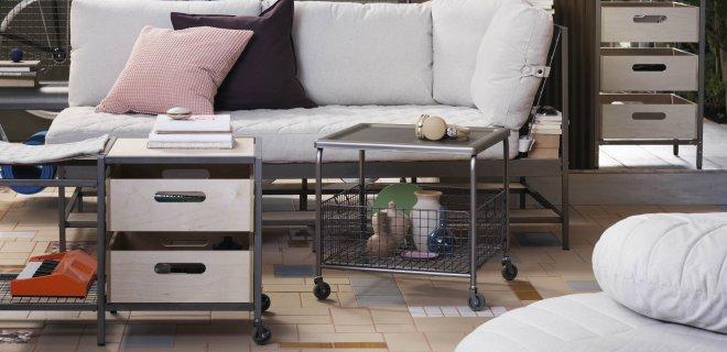 Nieuwe multifunctionele opbergers & meubels van IKEA