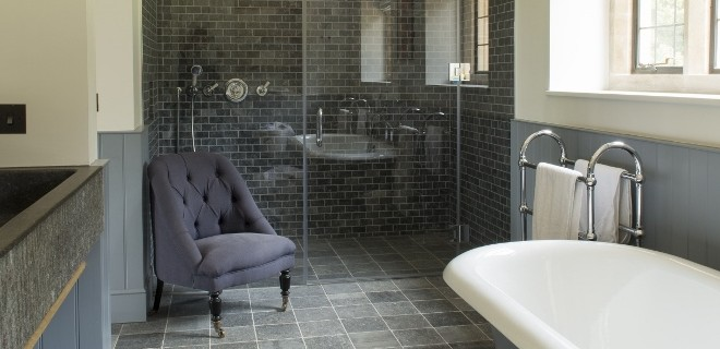 natuursteen in de badkamer - nieuws startpagina voor badkamer, Badkamer