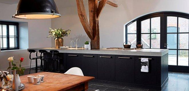 Keuken Lichte Vloer: Zwarte keukens eenig wonen lovin. Zwarte keukens ...