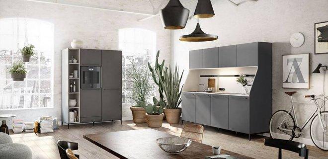 Multifunctionele SieMatic 'keukenkast' met knipoog naar vroeger