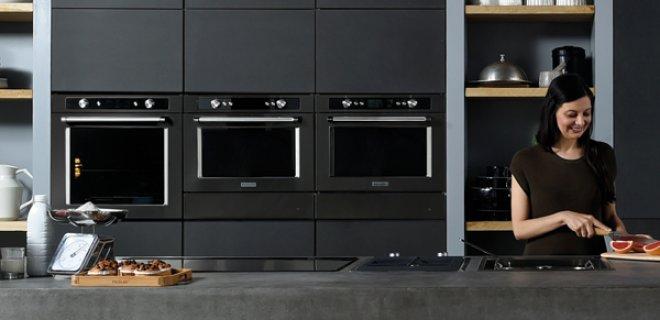 KitchenAid Black Stainless Steel inbouwapparaten