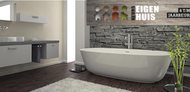 Nieuwe badkamer? Bezoek de Beurs Eigen Huis in Oktober!