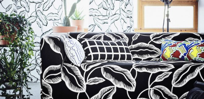 Knallende nieuwe IKEA collectie vol retroprints