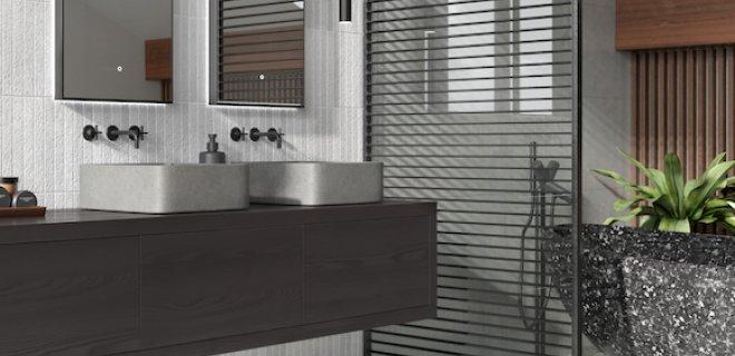 Nieuwe kleur voor een industriële badkamer