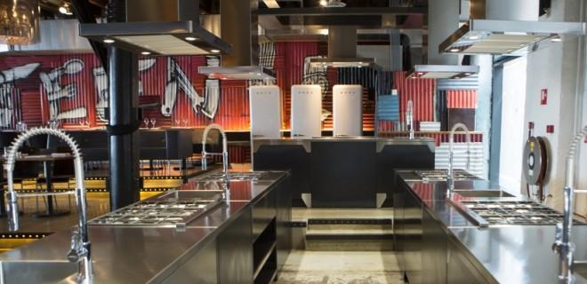 Nieuwe kookstudio Fifteen in Amsterdam