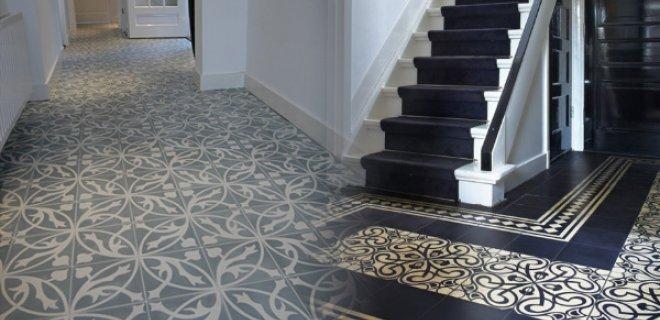 Sfeervolle vloeren van Portugese cement tegels
