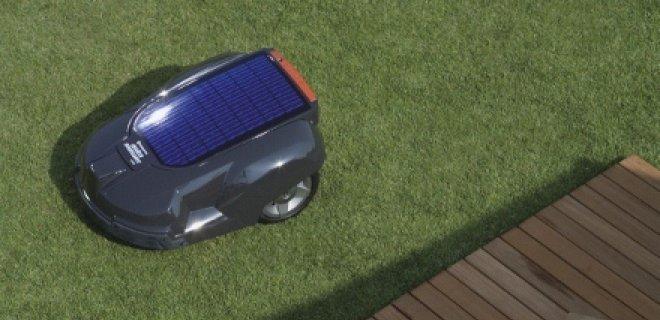 Grasmaaien op zonne-energie