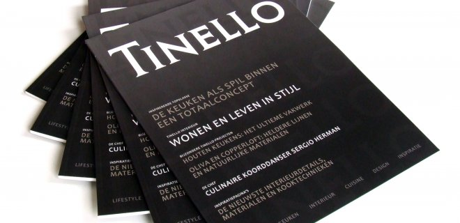 Vers van de pers: nieuw Magazine van Tinello