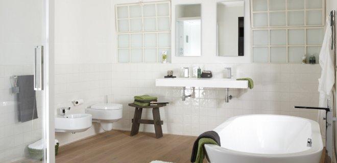 Landelijke badkamer van Baden+