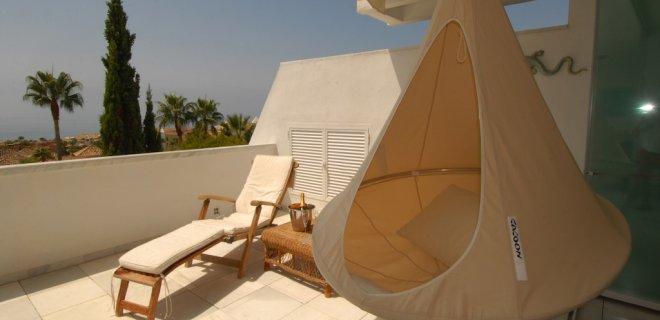 Ultra hippe lounge hangmat