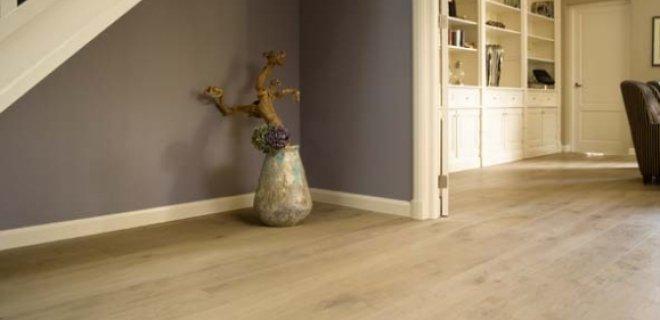 Vloerverwarming voor de houten vloer