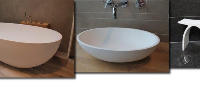 De stijlvolle baden & waskommen van de LUVA serie
