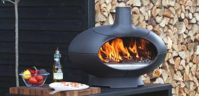Morsø pizzaoven barbecue en tuinhaard