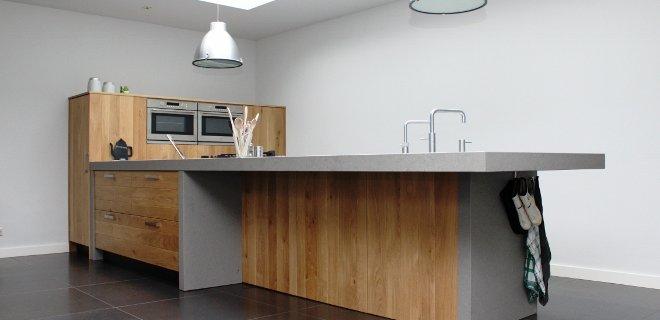 Maatwerk houten keukens van JP Walker