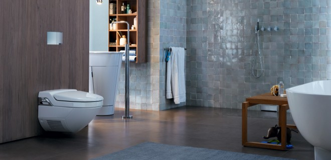 Noviteit: verzonken toilet bedieningsplaat van Geberit