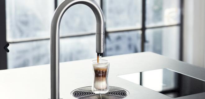 Revolutionair koffieapparaat