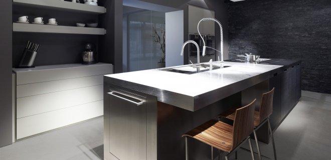 Vertex de functionele design keuken van Culimaat