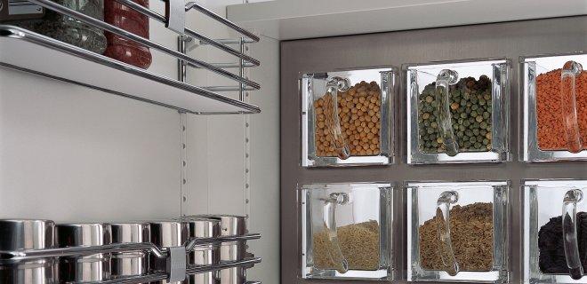 Handige ruimtewinners voor de SieMatic keukenkasten