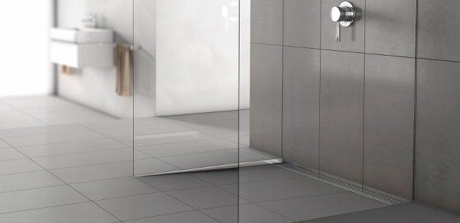 ACO ShowerStep tegelstrip voor inloopdouche
