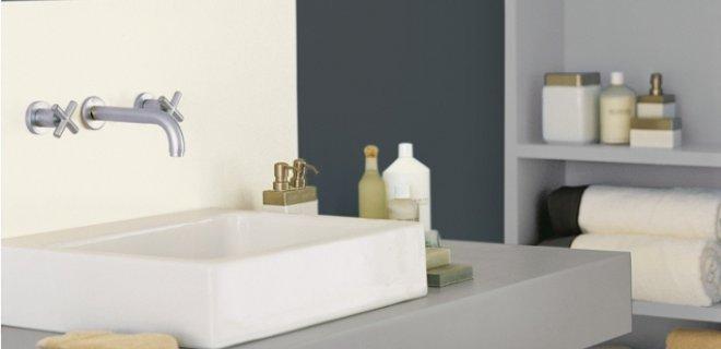 een wellness badkamer met histor trendkleuren - nieuws startpagina, Badkamer