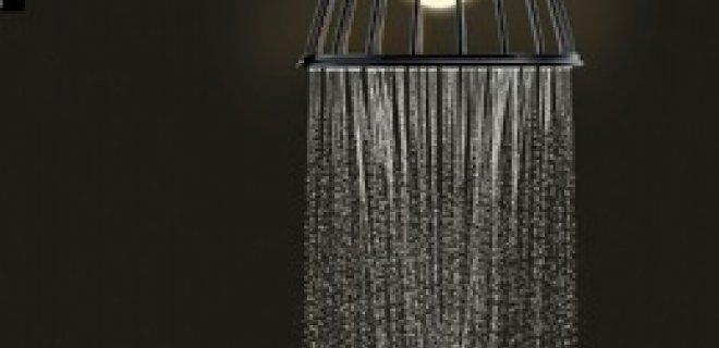 Verlicht douchen met de LampShower van Axor