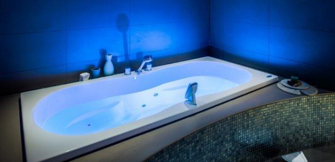 Heerlijk bubbelen in de baden van Cleopatra