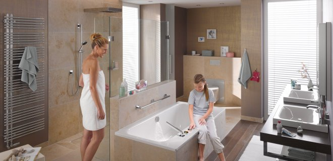 Een comfortabele badkamer voor jong en oud met Viega