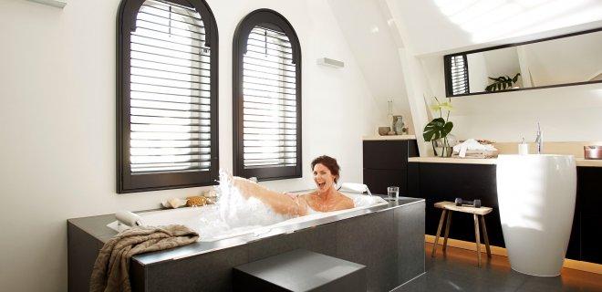 Baden met massagesystemen: whirlpools zijn populair