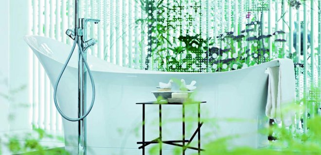 Axor gebruikt innovatief materiaal voor vele badkamer artikelen