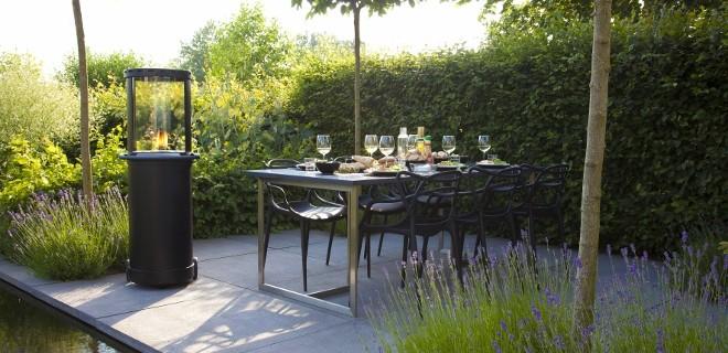 Buitenhaarden voor tuin en terras