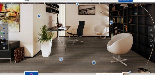Plaats elke vloer in uw interieur met de Quick•Step® Flooradvisor