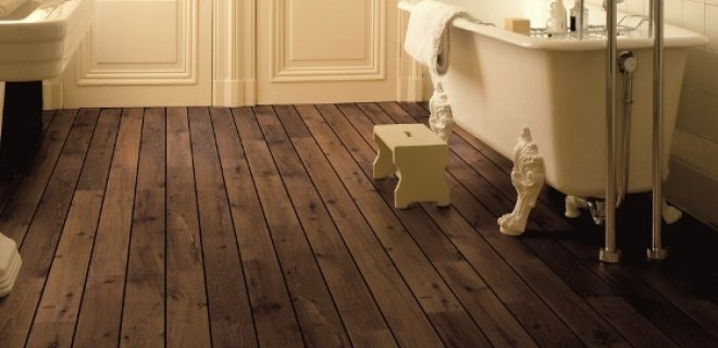 Vloeren voor de badkamer: nieuws en trends
