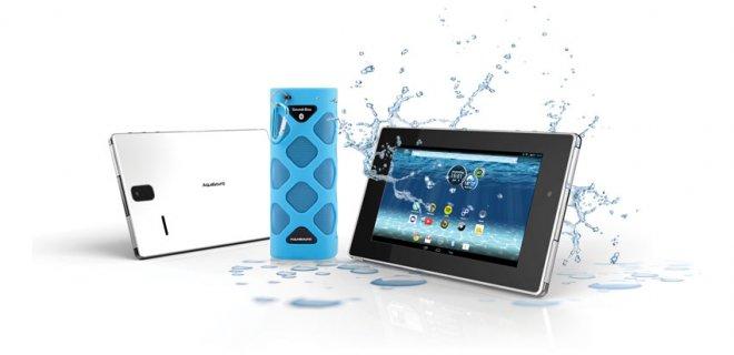 Badkamer gadget: waterdichte tablet van Aquasound