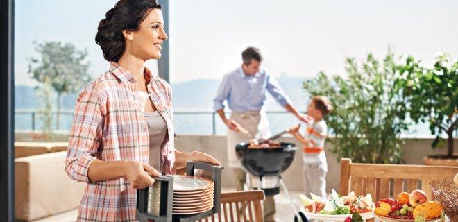 Buiten koken met handige keukenhulpjes van Blum