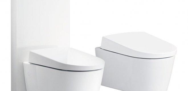 Vloerstaande WC met douchefunctie van Geberit