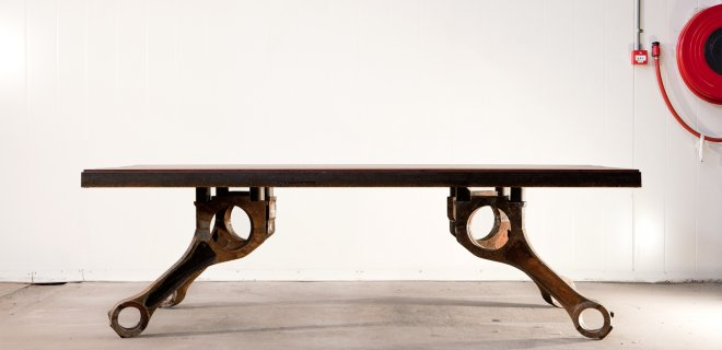 Stoere Keuken Kopen : Stoere houten tafels met een historie – Nieuws Startpagina voor